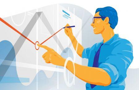 Binomo پر پل بیکوں کو تجارت کے ل trend ٹرینڈ لائنوں کا استعمال کیسے کریں؟