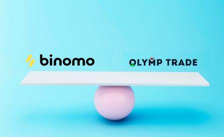 موازنہ Binomo اور اولمپک تجارت۔