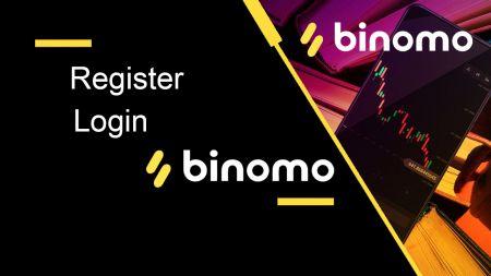 Binomo میں اکاؤنٹ کیسے رجسٹر اور لاگ ان کریں۔