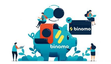 Binomo میں فنڈز جمع کرنے کا طریقہ