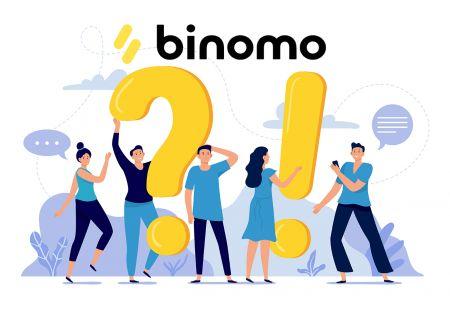 Binomo میں توثیق سے متعلق اکثر سوالات