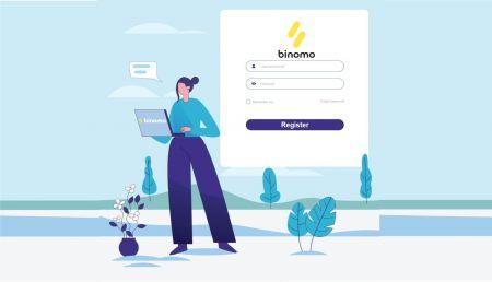 Binomo میں لاگ ان اور اکاؤنٹ کی تصدیق کیسے کریں۔