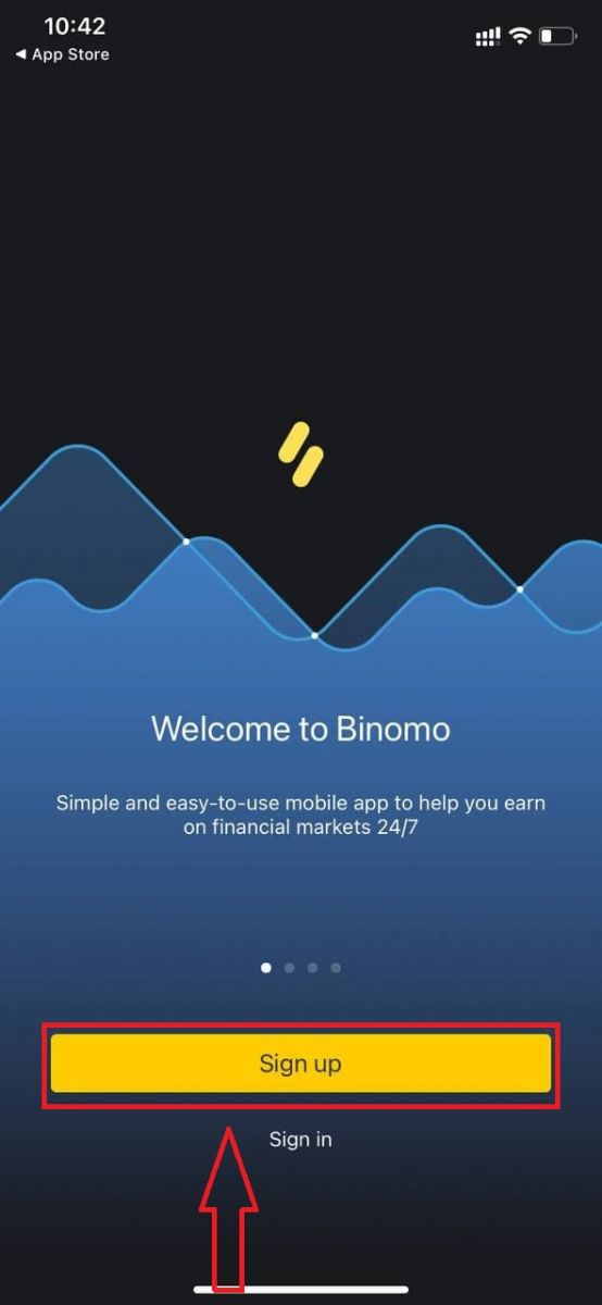 Binomo پر رجسٹر اور ٹریڈ کیسے کریں۔
