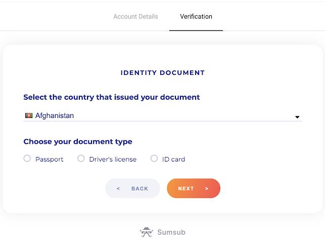 Binomo میں اکاؤنٹ رجسٹر اور تصدیق کیسے کریں