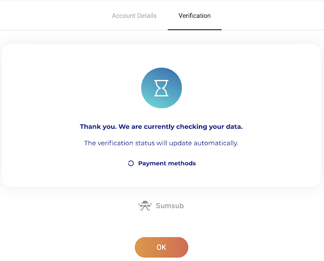 Binomo میں اکاؤنٹ کی تصدیق کیسے کریں